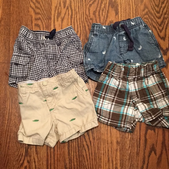 Carter's Other - 4 pairs of Carters baby shorts
